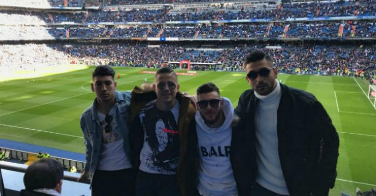 Συνάντηση-έκπληξη στη Μαδρίτη (pic)