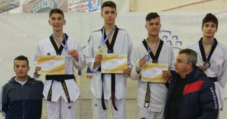 ΠΑΟΚάρα και στο Taekwondo