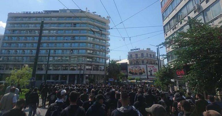 Το κέντρο της Αθήνας είναι ΠΑΟΚ
