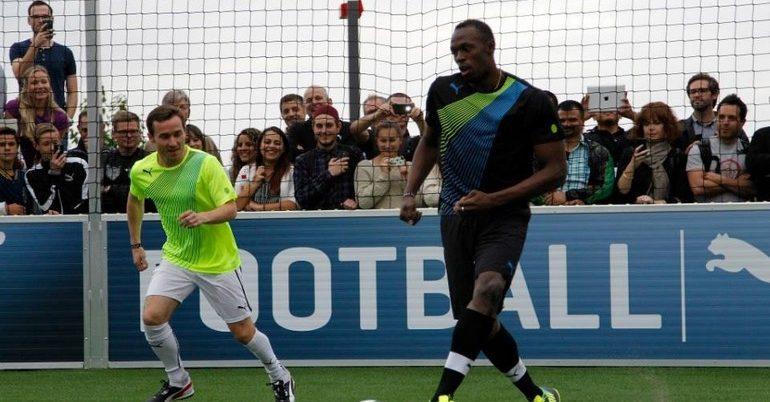 Ο Μπολτ γίνεται ποδοσφαιριστής!