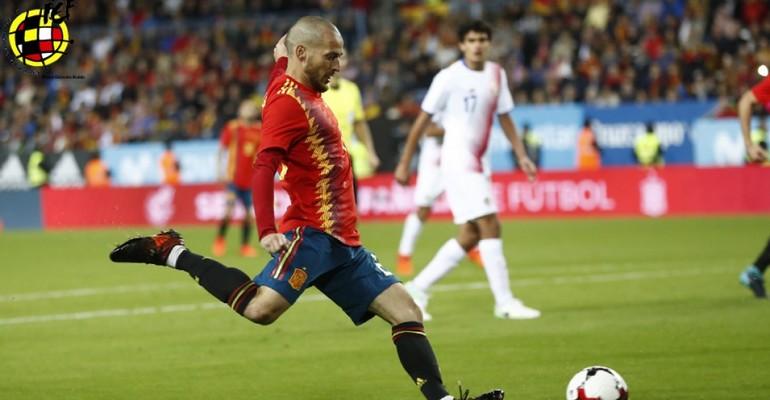 Τέλος και άλλος από την εθνική Ισπανίας!