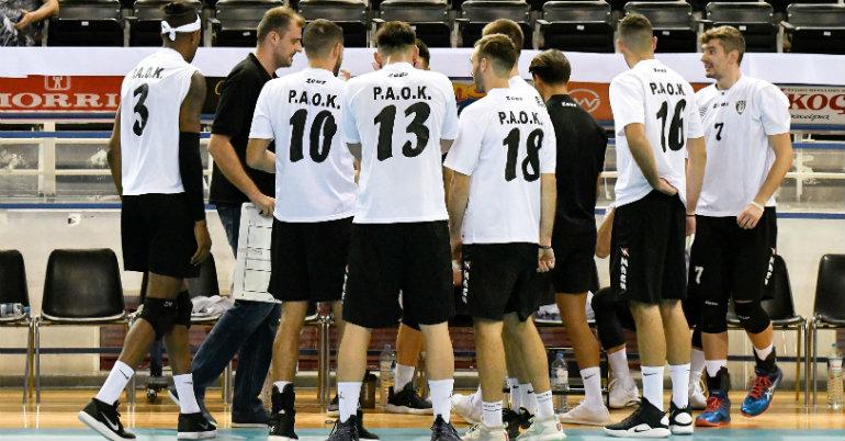 Αναβολή στη Volley League