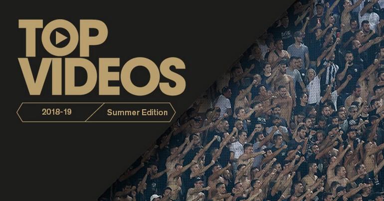 Τα πιο δημοφιλή video του ΠΑΟΚ