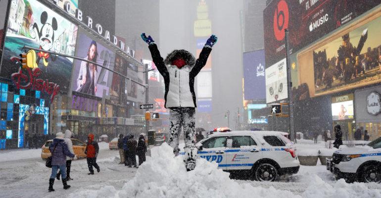 ΠΑΟΚ στο χιόνι της Ν. Υόρκης! (pic)
