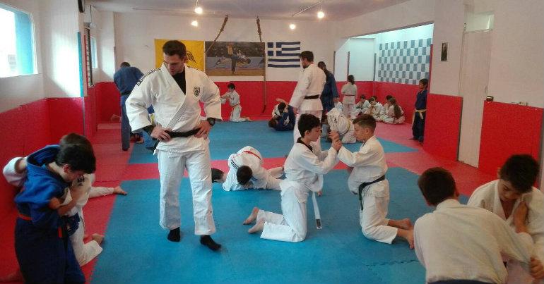 Επίσκεψη του Judo του ΠΑΟΚ