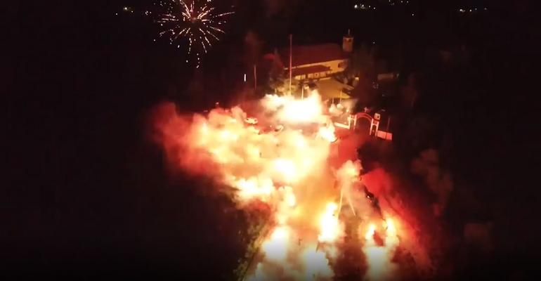 Έβαλαν… φωτιά στο Κιλκίς!