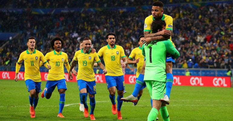 Στους «4» του Κόπα Αμέρικα η Βραζιλία