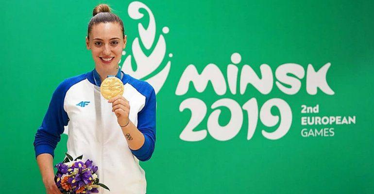 Χρυσό μετάλλιο για την Κορακάκη