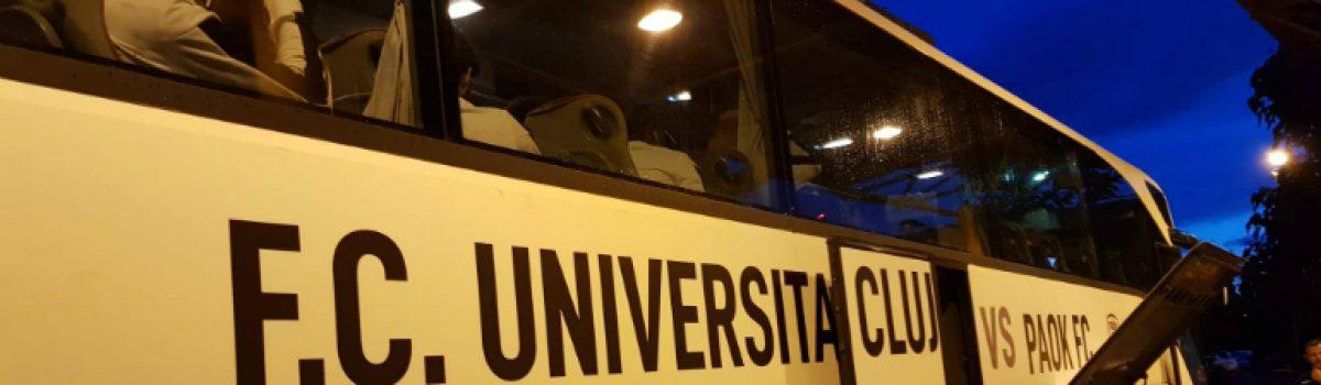 Στο λεωφορείο της Κλουζ ο ΠΑΟΚ