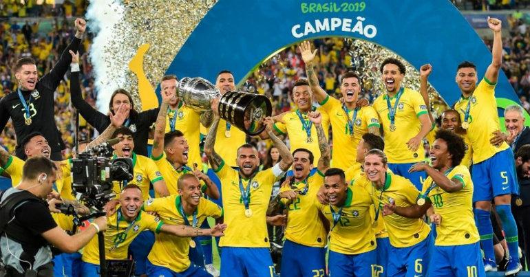 Η Βραζιλία πήρε το Κόπα Αμέρικα