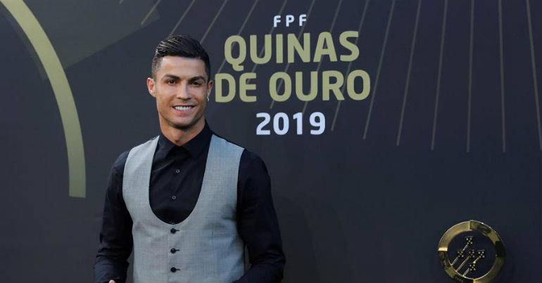Κορυφαίος Πορτογάλος παίκτης ο Ρονάλντο