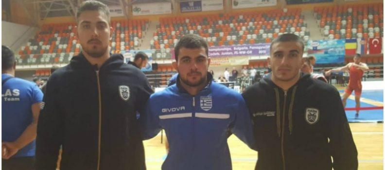 Τρεις του ΠΑΟΚ στους Βαλκανικούς
