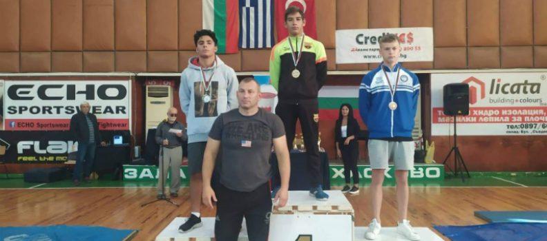 Τρία μετάλλια για ΠΑΟΚ