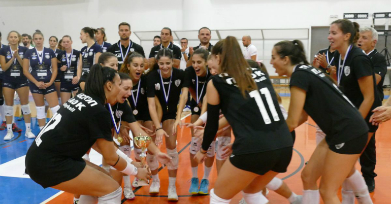 «Ιστορική πρώτη παρουσία στη Volleyleague»