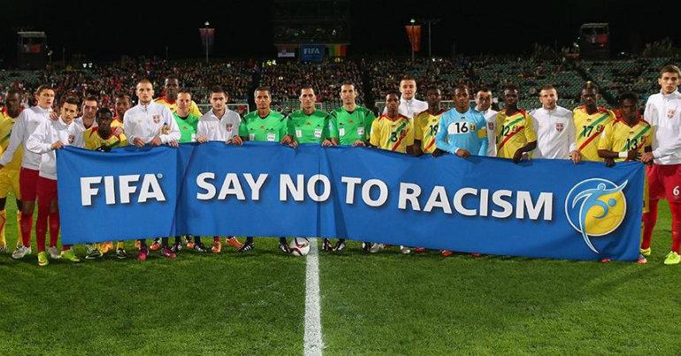 «Όχι» της FIFA στον ρατσισμό!