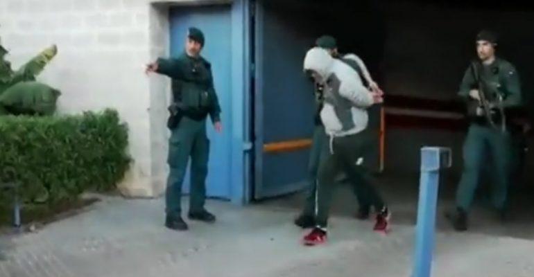 Η στιγμή της σύλληψης του Κόκε