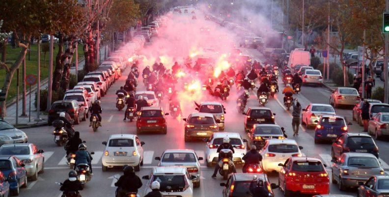 Σήκωσαν τη Θεσσαλονίκη στο… πόδι! (video)
