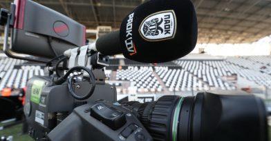 Νωρίτερα η… σέντρα στο PAOK TV