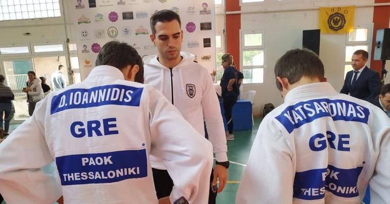 Στην κορυφή οι Judokas του ΠΑΟΚ