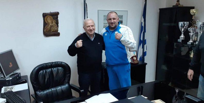 Στα γραφεία του ΠΑΟΚ ο Ηλίας Παυλίδης