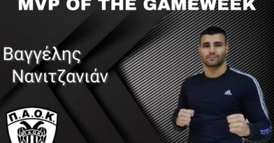 MVP ο Νανιτζανιάν