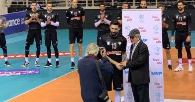 Βραβεύτηκε ο MVP Τακουρίδης!