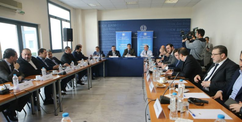 Συνεδριάζει η Steering Committee (pics)