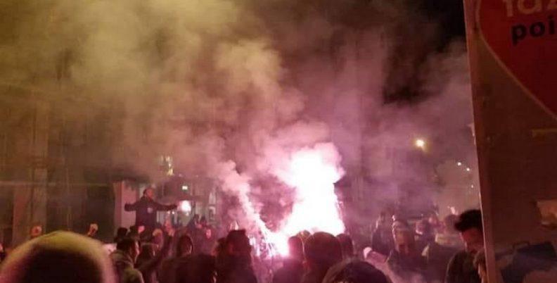 Έβαλαν «φωτιά» στην Αθήνα οι ΠΑΟΚτσήδες!