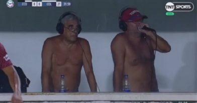 Έκαναν περιγραφή γυμνοί λόγω ζέστης (video)