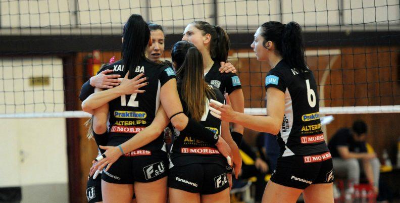 Λουκέτο στη γυναικεία Volley League