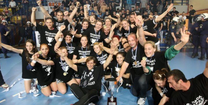 Το πρώτο πρωτάθλημα του γυναικείου χάντμπολ! (video)