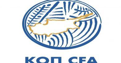 Αναστολή πρωταθλήματος έως 30/4 στην Κύπρο