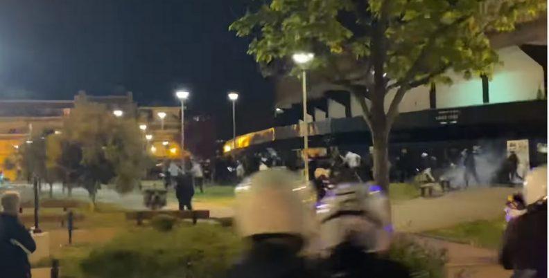 Πέταξαν δακρυγόνα στους ΠΑΟΚτσήδες! (video)