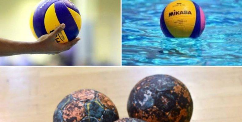 Αυτά ζητάνε οι αθλητές βόλεϊ, πόλο και χάντμπολ