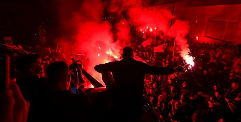 Όταν πήρε… φωτιά η Θεσσαλονίκη (pics)