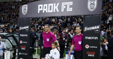 Συνελήφθη ο διαιτητής του ΠΑΟΚ-Παναθηναϊκός!