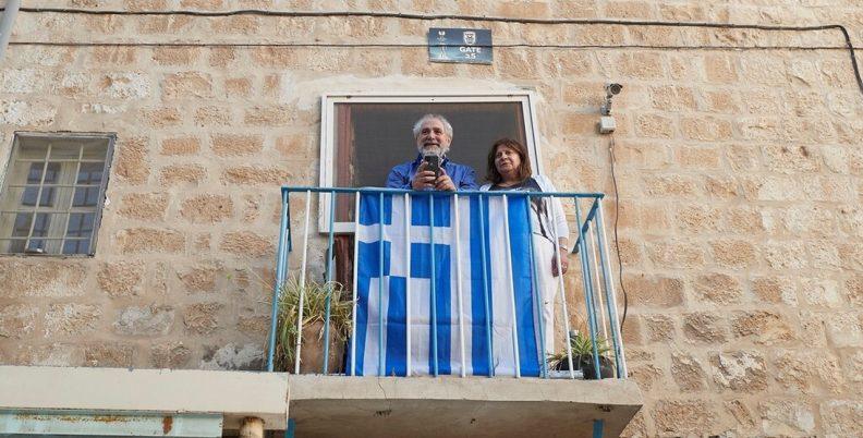 Συνάντησε ΠΑΟΚτσή στο Ισραήλ ο Μητσοτάκης