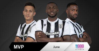 Ποιος ξεχώρισε τον Ιούνιο;