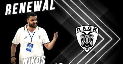 Συνεχίζει στον ΠΑΟΚ ο Παπαδόπουλος