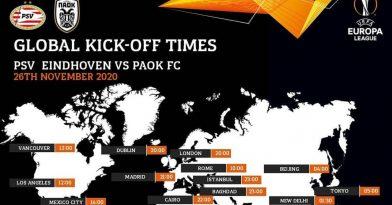 Ο «χάρτης» του PSV- ΠΑΟΚ (pic)