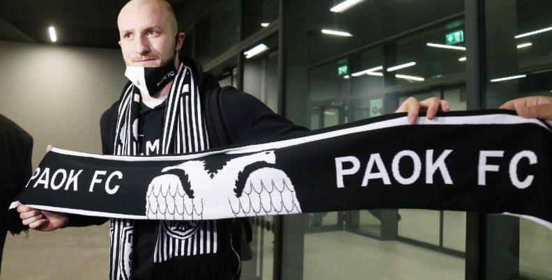 Έφτασε για τον ΠΑΟΚ ο Κρμέντσικ! (pics, video)