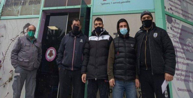 Αναχώρησαν για Αθήνα οι πρωταθλητές του ΠΑΟΚ