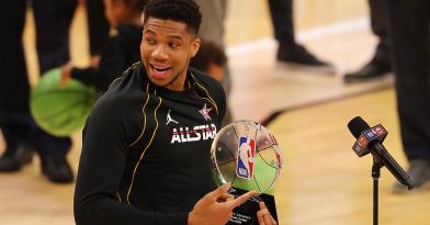 MVP του All Star Game o Αντετοκούνμπο! (vid)