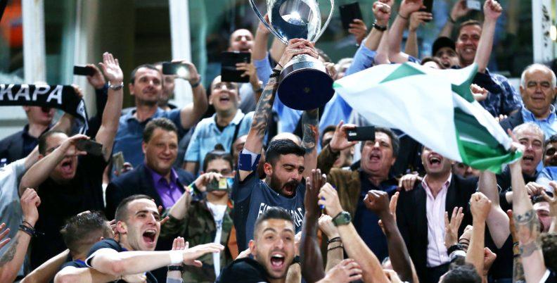 Σαν σήμερα: Ο ΠΑΟΚ Κυπελλούχος Ελλάδας!
