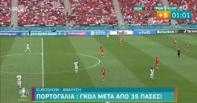 Το εκπληκτικό passing game των Πορτογάλων (video)