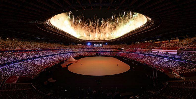 Η φαντασμαγορική έναρξη των Ολυμπιακών Αγώνων
