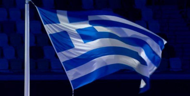 Τελετή λήξης: Η έπαρση της ελληνικής σημαίας (video)